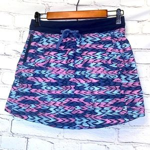 The North Face Blue Pink Athletic Skort Size Small